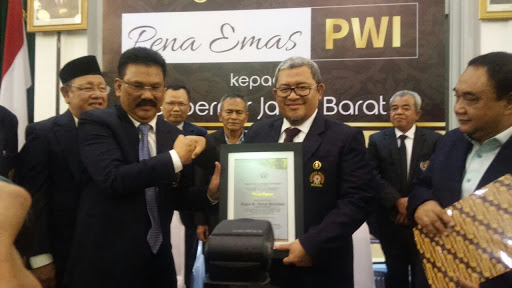 Daftar Penerima Pena Emas PWI Pusat