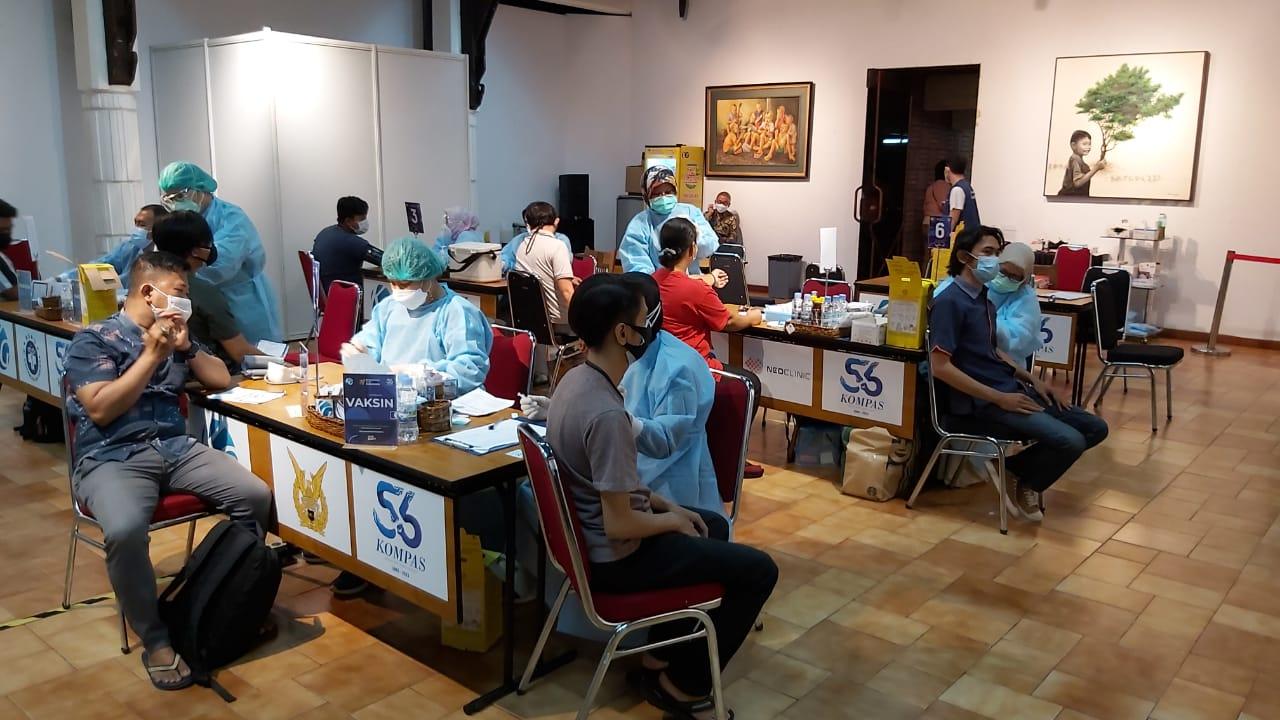 Target 10.000 Pekerja Media Dipusatkan di Bentara Budaya