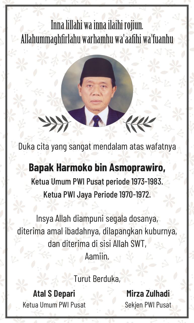 Selamat Jalan Pak Harmoko