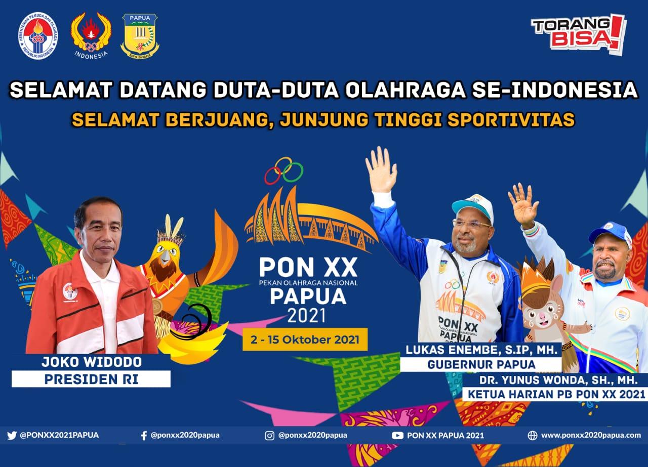 SELAMAT DATANG DUTA-DUTA OLAHRAGA SE-INDONESIA